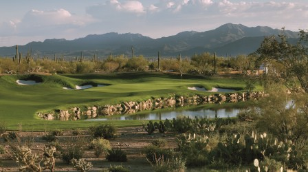 Hole #3 at Ritz-Carlton's Dove Mountain Saguaro Course
