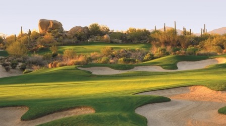 Beautiful Troon North Golf Club in Scottsdale, Arizona