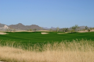 #6 hole at the Trilogy Golf Club at Vistancia in Peoria, Arizona