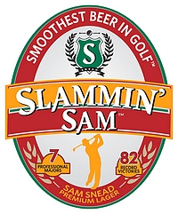 Slammin Sam Logo - Arizona Golf Authority